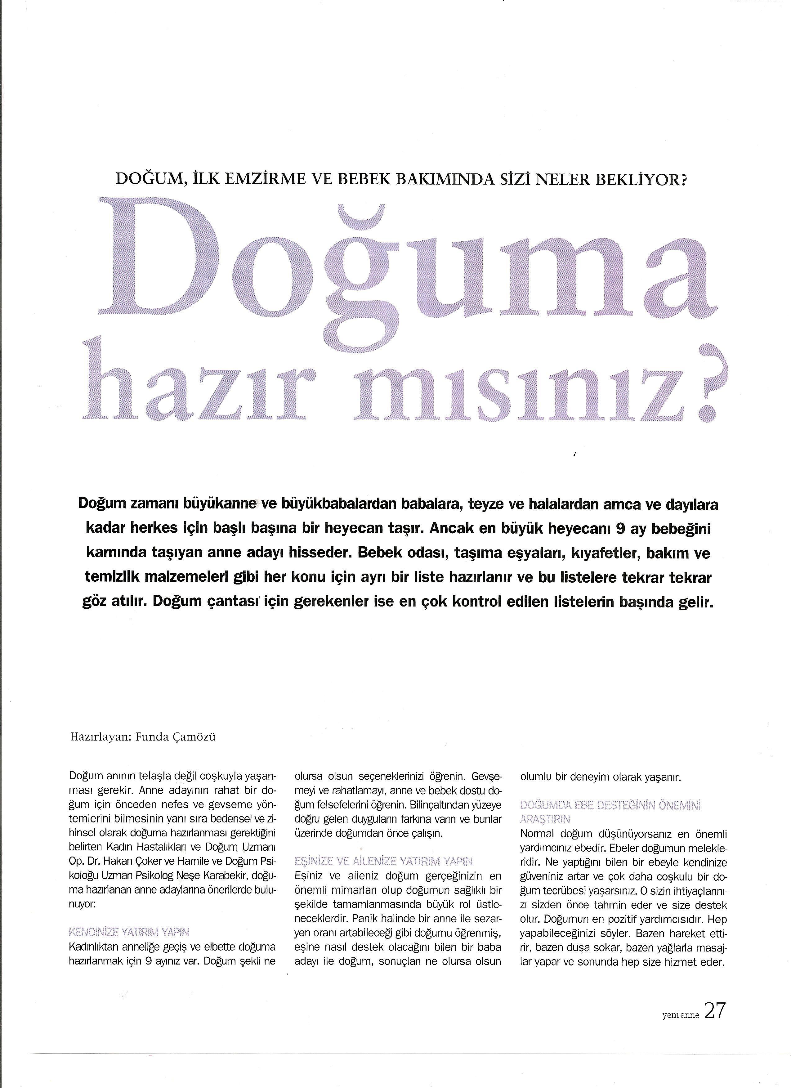 Anne dergisi 1