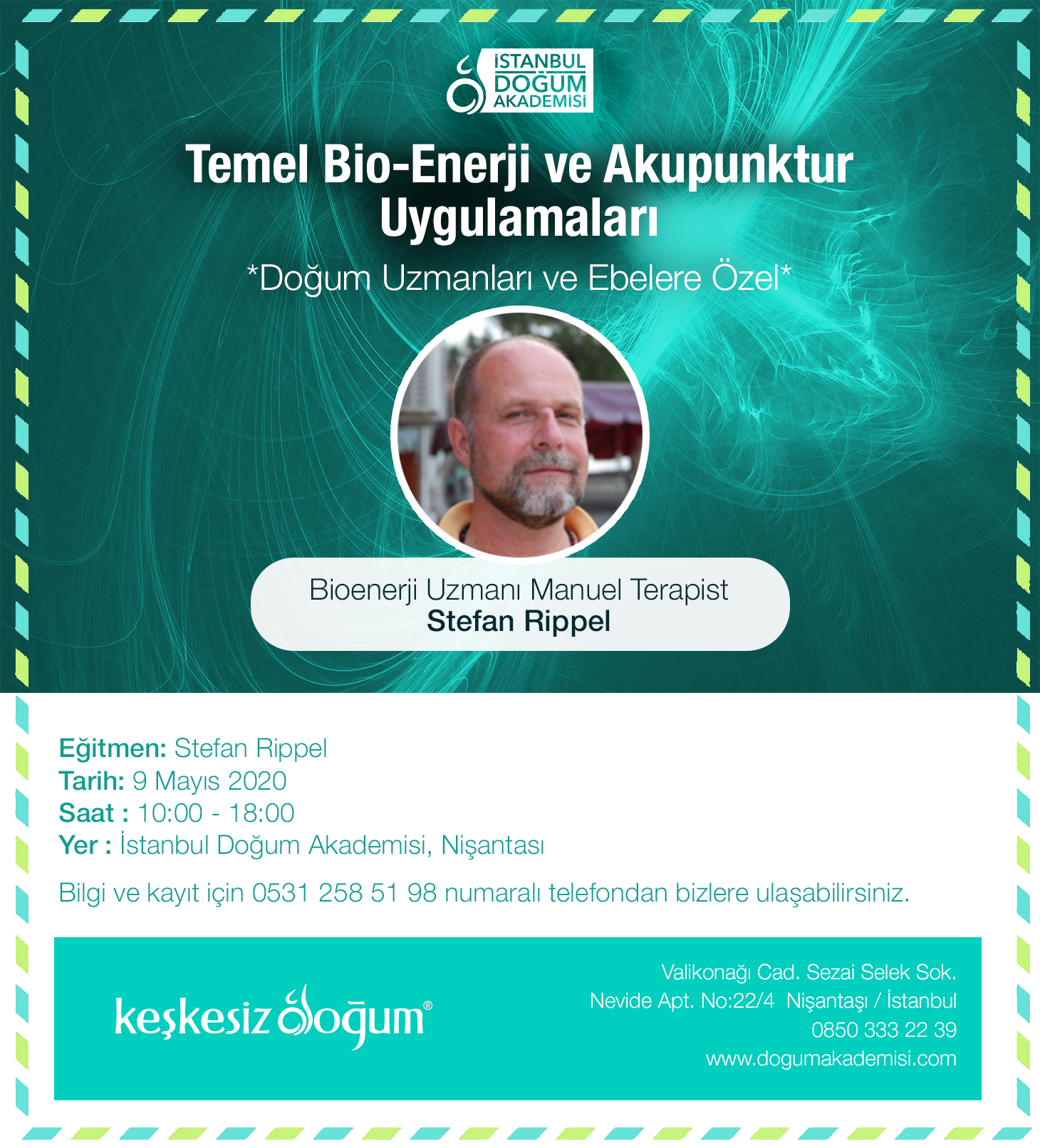 Temel Bio-Enerji Uygulamaları ve Kulak Akupunkturu