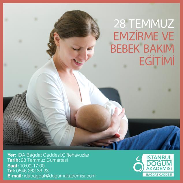 Emzirme ve Bebek Bakımı Eğitimi
