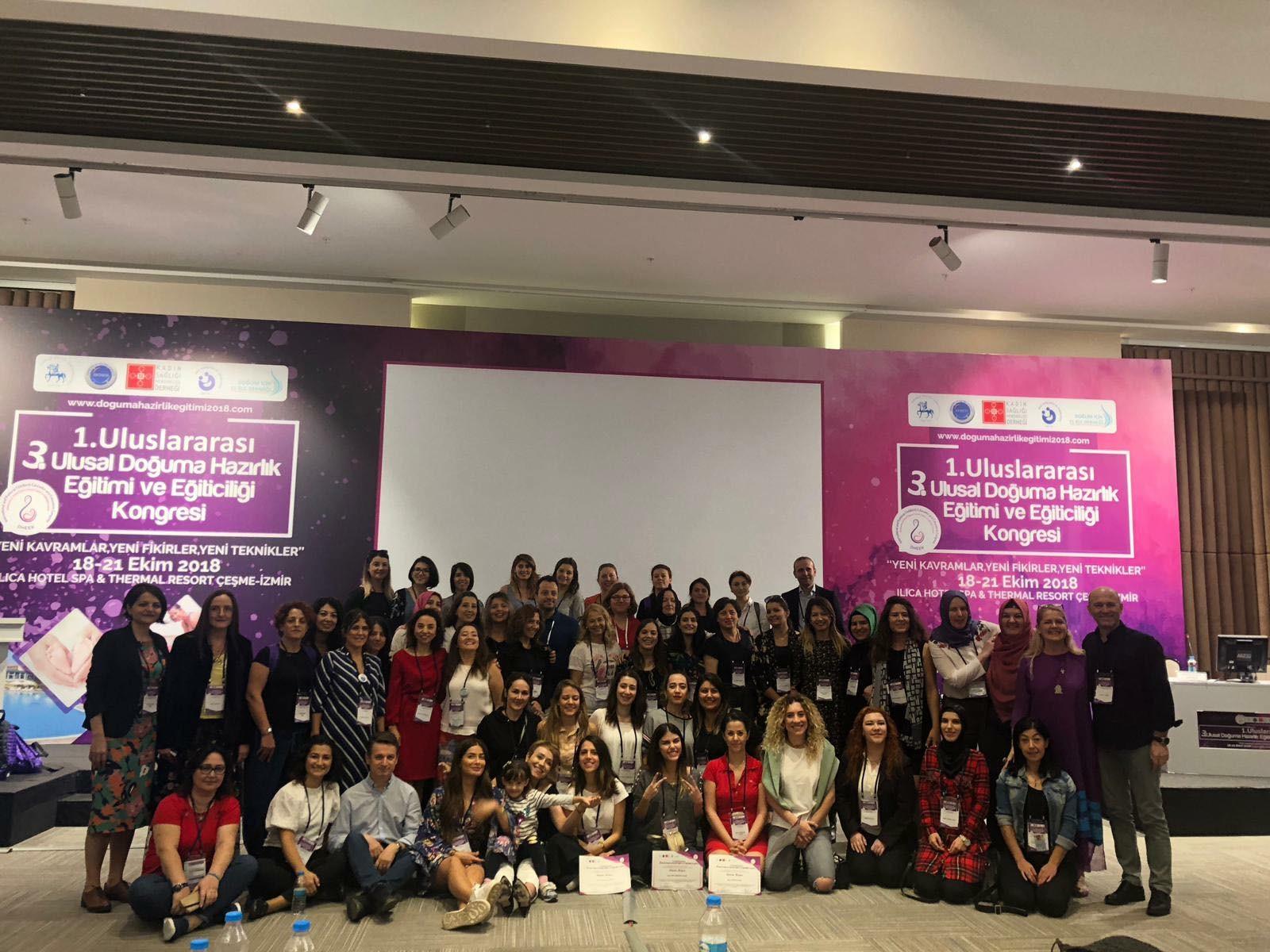 3. Uluslararası Doğuma Hazırlık Eğitimi ve Eğitimciliği Kongresi yapıldı.