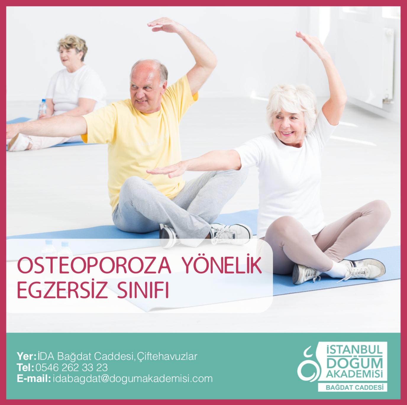 Osteoporoza Yönelik Egzersiz Sınıfı