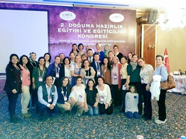 Seferihisar/İzmir  II. Doğuma Hazırlık Eğitimi ve  Eğiticiliği Kongresi Kongre Sonuç Bildirgesi
