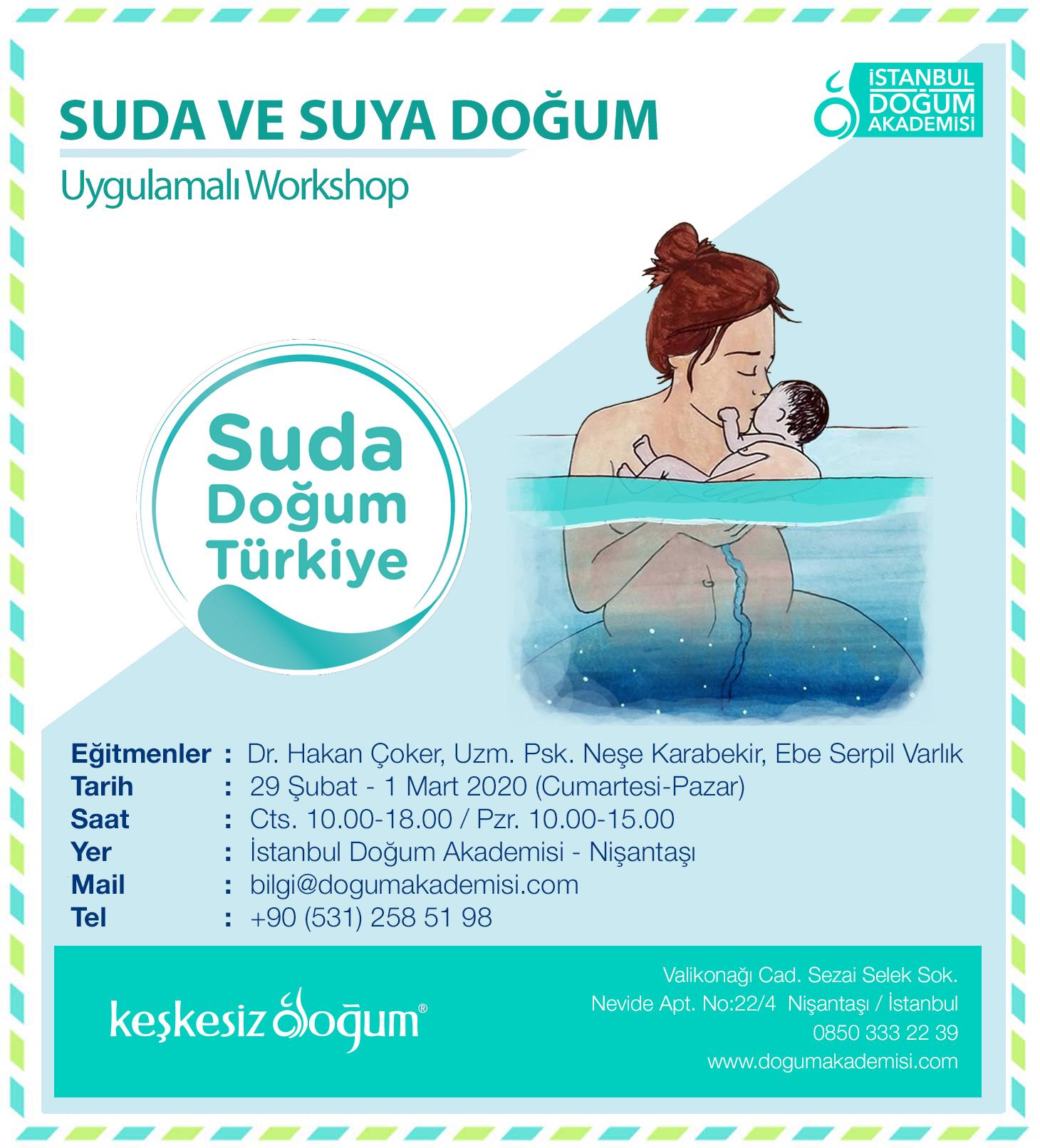 4. Suda ve Suya Doğum Eğitimi