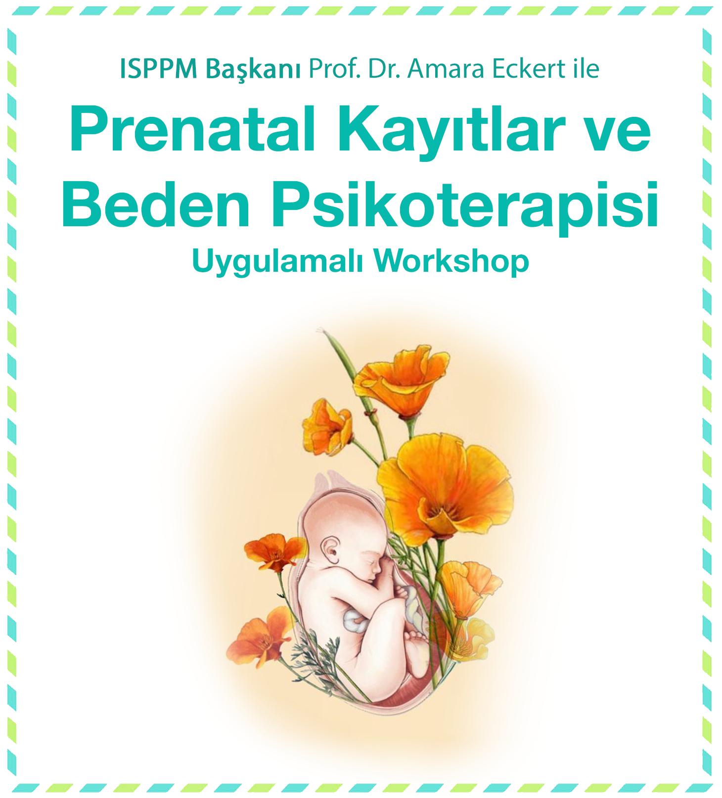 Prenatal Kayıtlar ve Beden Psikoterapisi Atölyesi yapıldı.