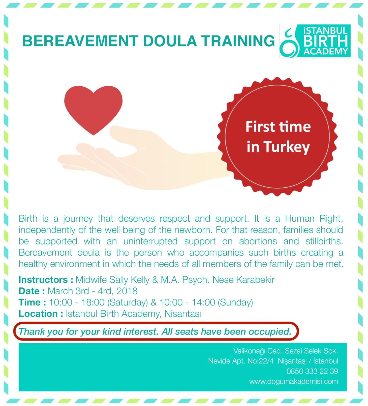 Bereavement Doula Training