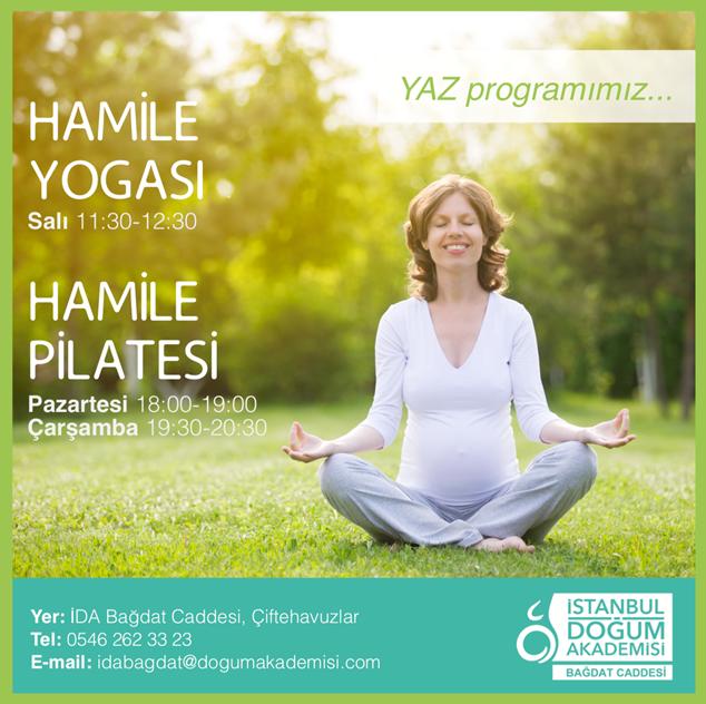 Hamile Yogası ve Hamile Pilatesi